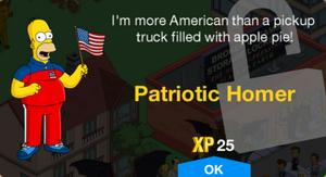 Patriotic Homer Unlock.png