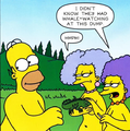The Simpsons Au Naturel Patty Selma.png