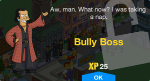 Bully Boss Unlock.png