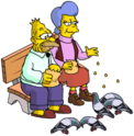 Tapped Out Mona Feed the Birds.png
