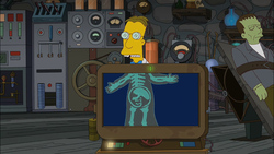 Alien reference (Treehouse of Horror XXI).png