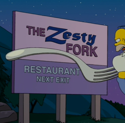 The Zesty Fork Wikisimpsons The Simpsons Wiki