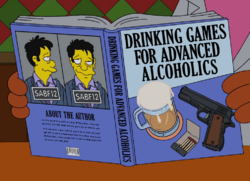 Drinking Games For Advanced Alcoholics Wikisimpsons The Simpsons Wiki