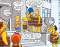 Comic Book Guy Lisa Marge Maggie Homer Moe Francine D'oh! Unto Others.png