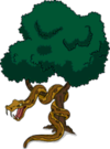 Tapped Out Giant Snake in a Tree.png