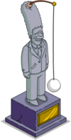 Tapped Out Marge Tetherball Statue.png