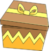 Tapped Out Gold Block.png