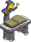 Tapped Out Mr. Burns Read from the Necronomicon.png
