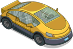 Tapped Out Yellow Electric Car.png