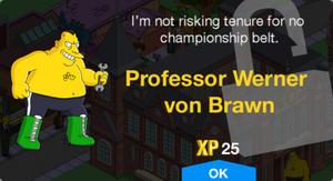 Professor Werner von Brawn Unlock.png
