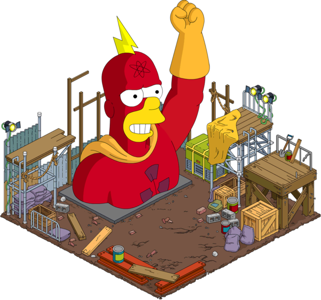 File:Tapped Out Radioactive Man Statue.png
