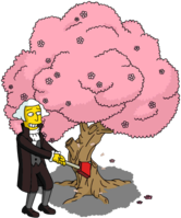 Tapped Out George Washington Try to Cut Down a Cherry Tree.png