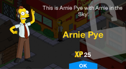 Tapped Out Arnie Pye New Character.png