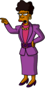 Tapped Out BerniceHibbert Argue with her Husband.png