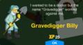 Gravedigger Billy Unlock.png