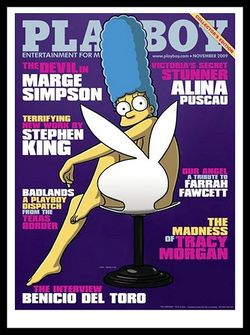 Aye Carumba! Marge Simpson poses for Playboy cover.jpg