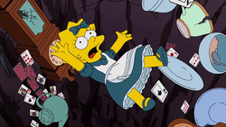 Lisa in the Guillermo del Toro opening sequence.png
