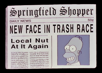 Springfield Shopper New Face in Trash Race.png
