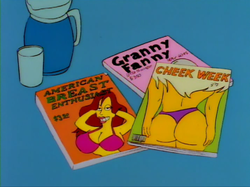 Sideshow Bobs Last Gleaming magazines.png