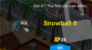 Tapped Out Snowball II Unlocked.png