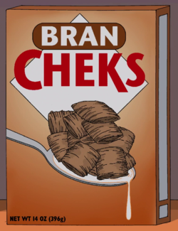 Bran Cheks - Wikisimpsons, the Simpsons Wiki