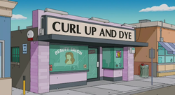 Curl Up and Dye - Wikisimpsons, the Simpsons Wiki