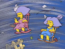 Patty and Selma in Tornado.png