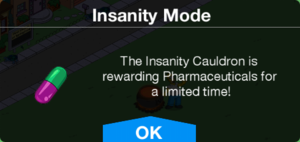 Insanity Mode Pharmaceuticals Message.png