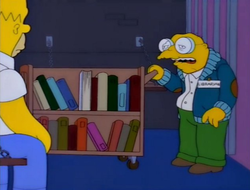 Moleman with Book Cart.png