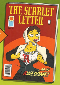 The Scarlet Letter Wikisimpsons the Simpsons Wiki