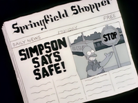 Springfield Shopper - Simpson Says Safe!.png