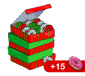 Tapped Out Stack of 60 Donuts Christmas.png
