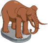 Zoo Elephant Statue.png