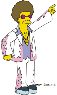 Simpsons Christmas Boogie.Disco Stu Wikisimpsons The Simpsons Wiki