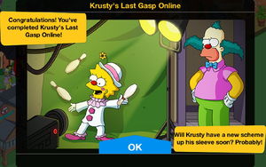 Krusty's Last Gasp Online End Screen.png