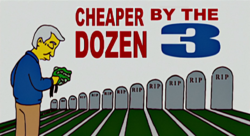 Cheaper by the Dozen 3 - Wikisimpsons, the Simpsons Wiki